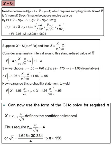 Topic 7 - Sampling Distributions, Central Limit Theorem (CLT ...